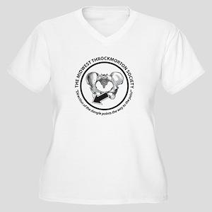Throckmorton Women's Plus Size V-Neck T-Shirt