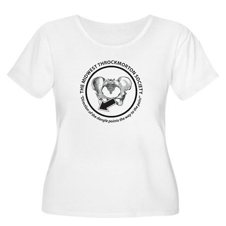 Throckmorton Women's Plus Size Scoop Neck T-Shirt