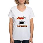 Shop Pacific Grove Women's V-Neck T-Shirt
