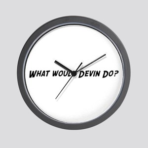 What would Devin do? Wall Clock