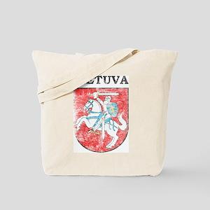 Vintage Lietuva Tote Bag