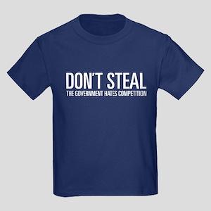 Don't Steal Kids Dark T-Shirt