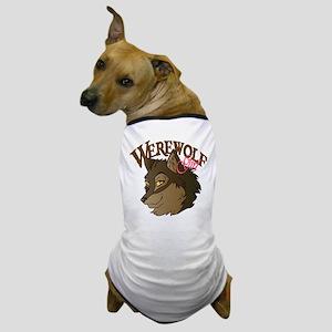Werewolf Girl Dog T-Shirt