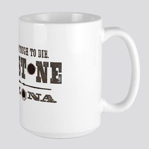 Tombstone Large Mug