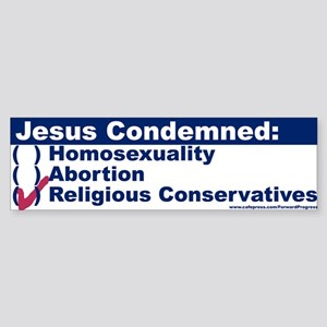 Jesus Condemned Religious Conservatives