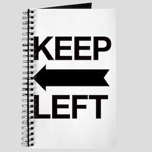 Keep Left Journal