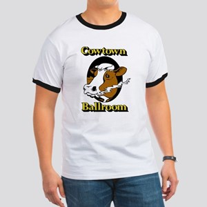 Cowtown Ballroom Ringer T T-Shirt