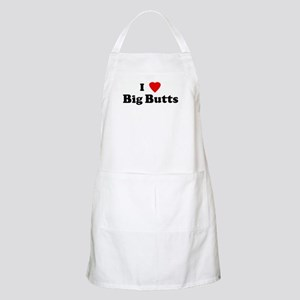 I Love Big Butts BBQ Apron
