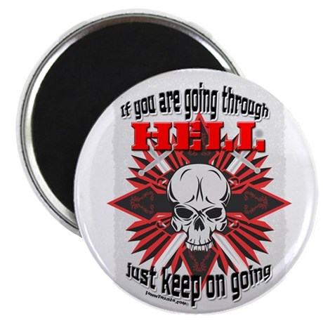 Thro Hell Magnet