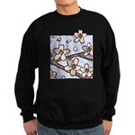 Alishan flowers Sweatshirt (dark)