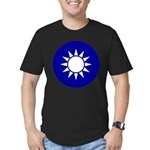 Republic of China Men's Fitted T-Shirt (dark)