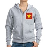 People's Republic of China Women's Zip Hoodie