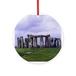 Stonehenge - Holiday Ornament Round