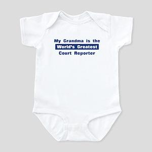 Grandma is Greatest Court Rep Infant Bodysuit