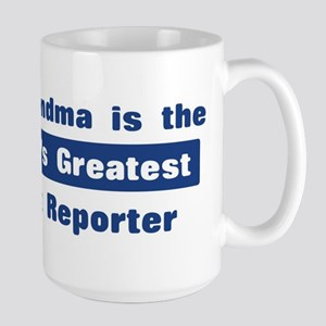 Grandma is Greatest Court Rep Large Mug