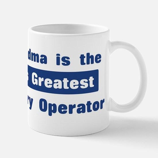 Grandma is Greatest Data Entr Mug