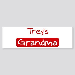 Treys Grandma Bumper Sticker