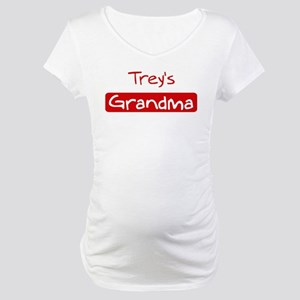 Treys Grandma Maternity T-Shirt