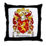 Mcnamara Coat of Arms Throw Pillow