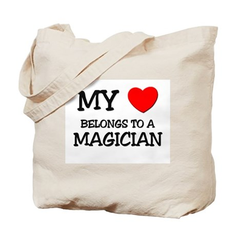 My Heart Belongs To A MAGICIAN Tote Bag