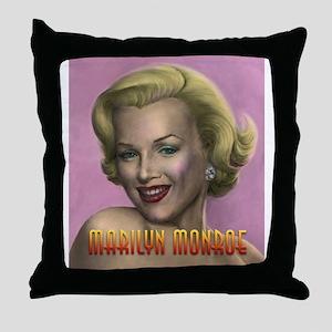 Marilyn shop 001 Throw Pillow