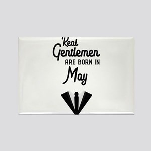 Real Gentlemen are born in May C9tmi Magnets