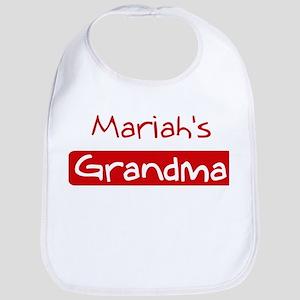 Mariahs Grandma Bib