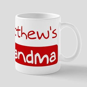 Matthews Grandma Mug