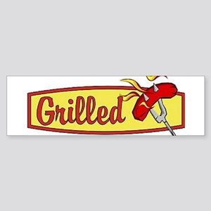 Grilled Food Bumper Sticker