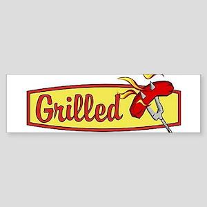 Grilled Food Bumper Sticker