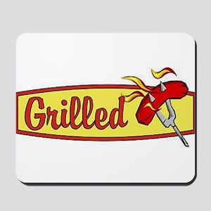 Grilled Food Mousepad