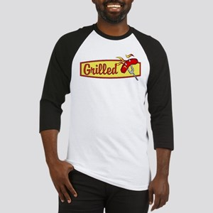 Grilled Food Baseball Jersey