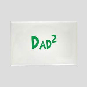 Dad2 Rectangle Magnet