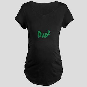 Dad2 Maternity Dark T-Shirt