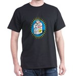 Missing person / Inclusion Milk Cart Black T-Shirt