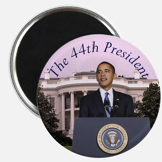 "Obama: The 44th President 2.25"" Magnet (10 pack)"