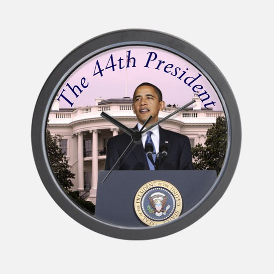 Obama: The 44th President Wall Clock