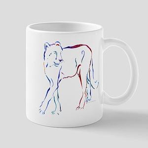 Cheetah Colors No Outline Mug