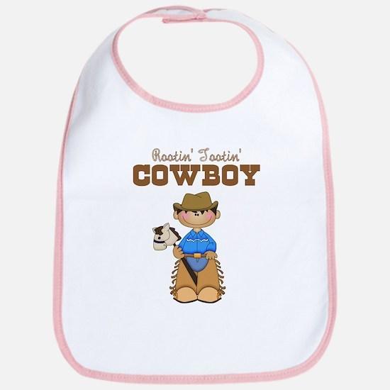 Rootin' Tootin' Ethnic Cowboy Bib