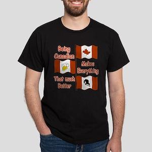 Being Canadian Dark T-Shirt