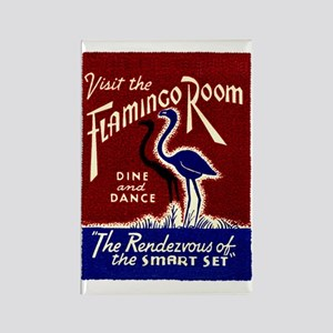 FLAMINGO ROOM Rectangle Magnet