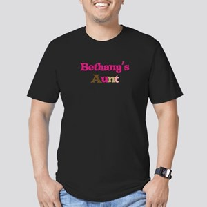 Bethany's Aunt Men's Fitted T-Shirt (dark)
