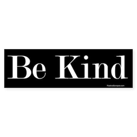 Be Kind (on black)