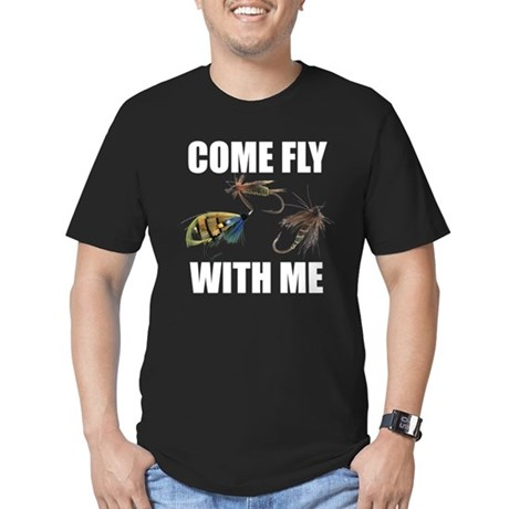 Come Fly With Me Men's Fitted T-Shirt (dark)