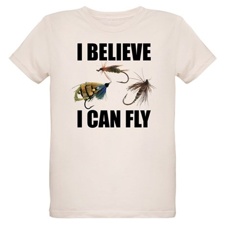 I Believe I Can Fly Organic Kids T-Shirt