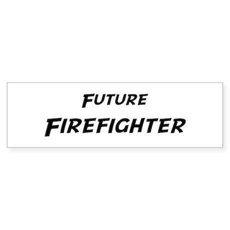 Future Firefighter Bumper Sticker