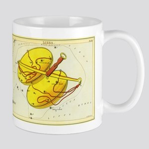 Vintage Celestial Zodiac, Libra Mug