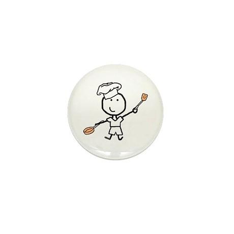 Boy & Chef Mini Button (10 pack)