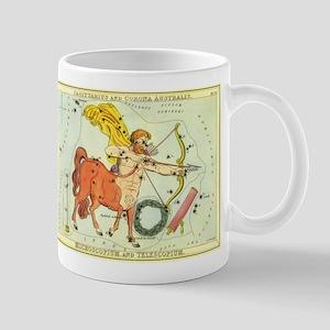 Vintage Celestial Zodiac, Sagittarius Mug