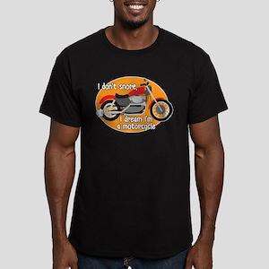 I Dream I'm A Motorcyl Men's Fitted T-Shirt (dark)